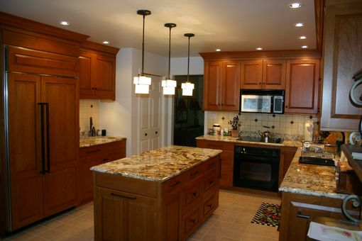 Custom Made Beautiful Cherry Kitchen