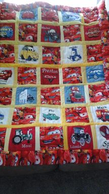 Custom Made Embroidered Character Quilt