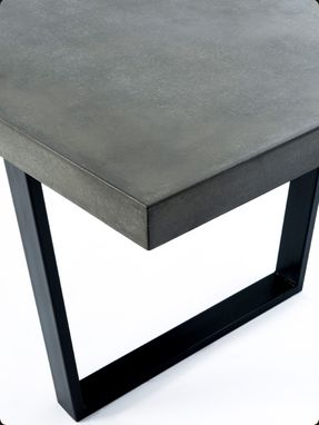 Custom Made 'The Taper Table' Concrete Dining Table