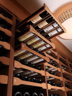 Custom Made Astor Wine Cellar