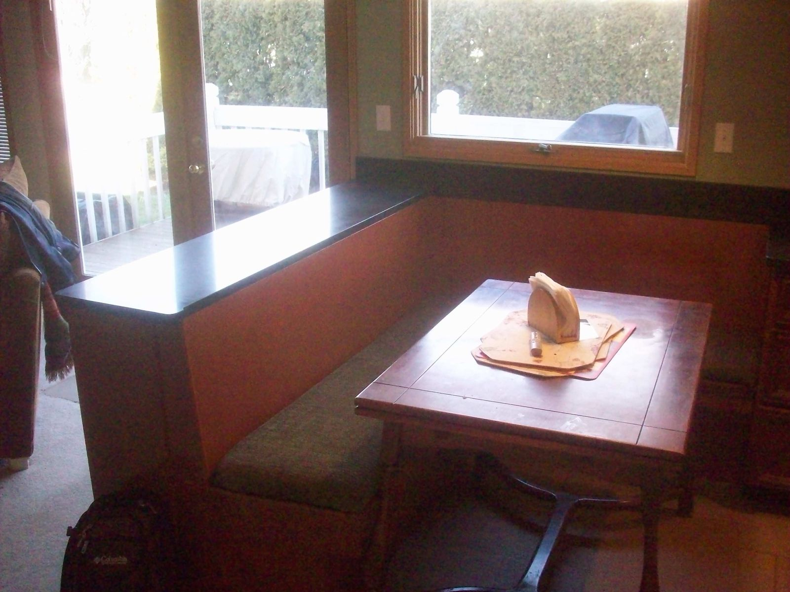 Custom Made Breakfast Nook By Eagle Woodworking