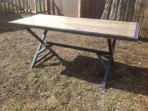 Custom Made Dinning Room Trestle Table