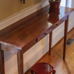 Shaker Hall Table By Stan Tetrault