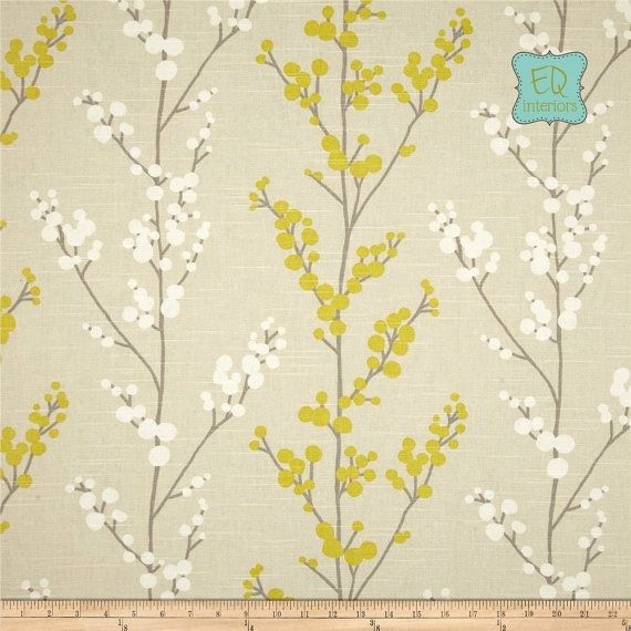 Hand Crafted Richloom Evelynne In Lemongrass Grey Gray Yellow Custom Curtain Panels 63l X 50w By