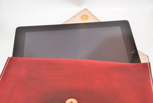 Custom Made Leather Ipad Case