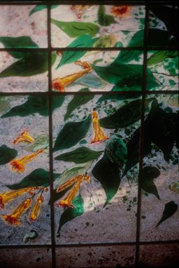 Custom Made Fused Glass Screens
