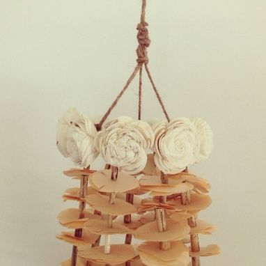 Custom Made Pajaki Chandelier Decor