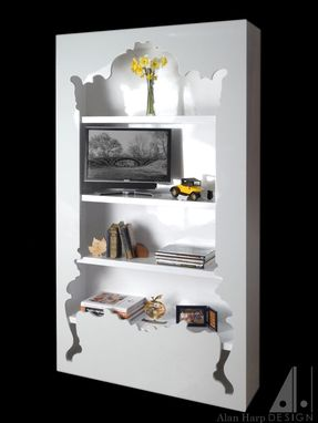Custom Made Shadow Box Bookcase