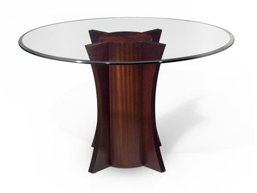 Custom Made Spin Dining Table Base Only
