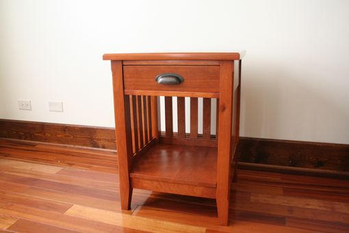 Hand Made Mission Shaker Style Cherry Night Stand By