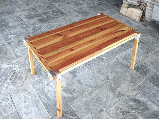 Custom Made Cartesia Table With Nested Top