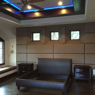 Custom Made Wall Paneling For Bedrooms Or Office Spaces For A Luxurious Look