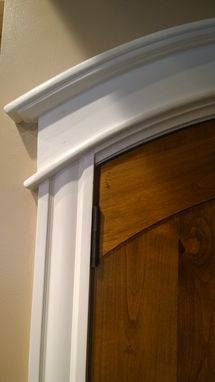 Custom Made Arched Top Double Door