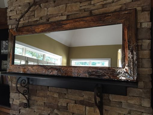 Custom Made Barn Wood Mirror