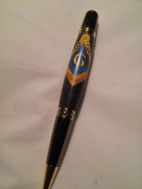Custom Made Masonic Pen