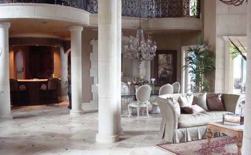 Custom Made Cast Stone Columns
