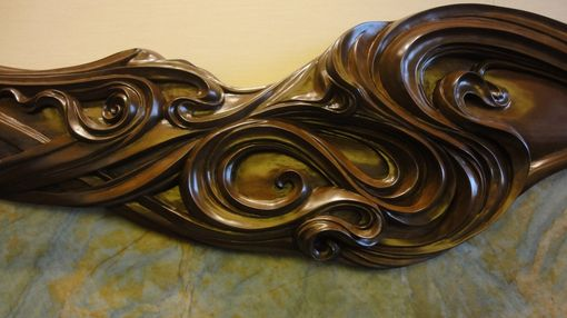 Custom Made Hand Carved Fire Surround/Mantle