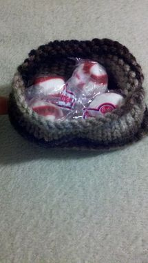 Custom Made Small Knitted Pouch