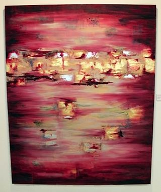 Custom Made Large Abstract Custom Oil Painting