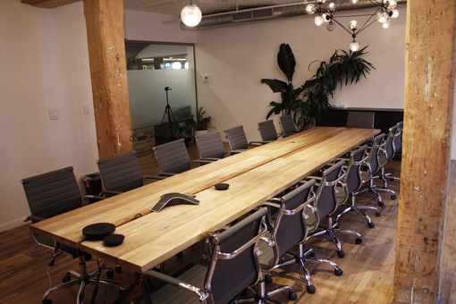Custom Made Ambrosia Mable Conference Table
