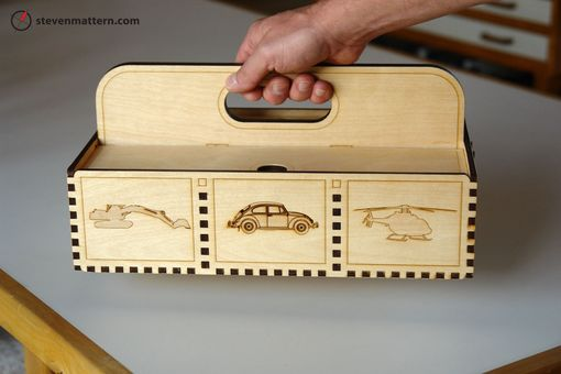 Custom Made Toolbox For Children
