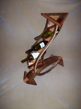Custom Made Wine Bottle Holder