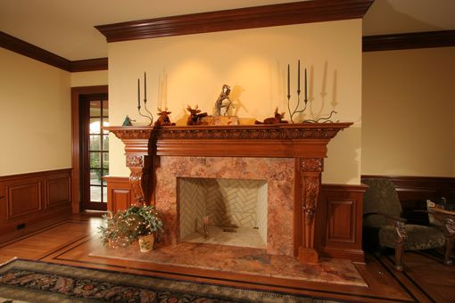 Custom Made Fire Place
