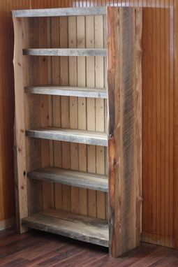 Hand Made Reclaimed Wood Bookcase Decorus Furnishings