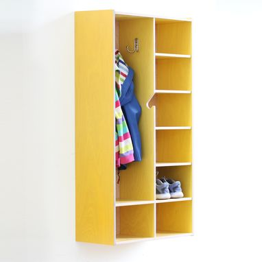 Custom Made Coat And Shoe Cubby
