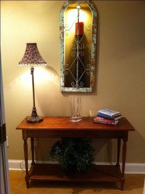 Custom Made Entryway Table