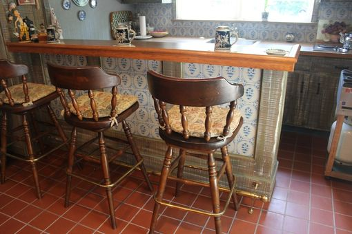 Custom Made Rustic Farm House Wet Bar By R J Hoppe Inc