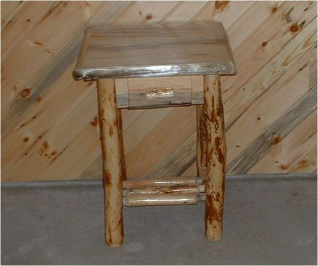 Custom Made Rustic Nightstand