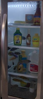 Custom Made Custom Refrigerator (Fish Tank) Surround