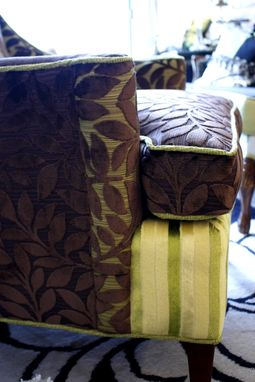 Custom Made Upholstered Chair Vintage Chair