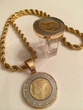 Custom Made Coin Jewelry