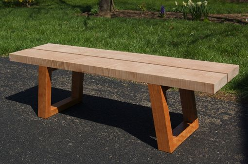 Custom Made Coffee Table Bench