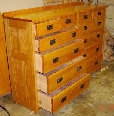 Custom Made Large 12 Drawer Chest