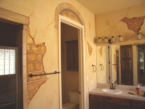 "Custom Made ""Faux"" Bathroom - Before And After"