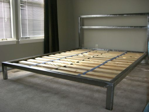Handmade Welded Platform Bed By Steric Design Custommade Com