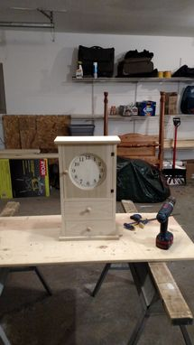 Custom Made Shaker Style Clock