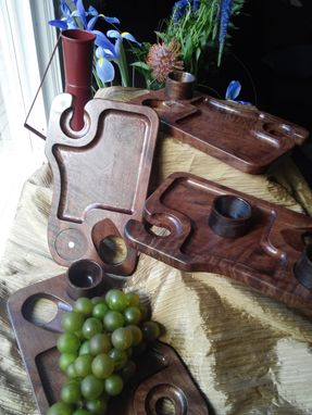 Custom Made Appetizer/Wine Serving Trays