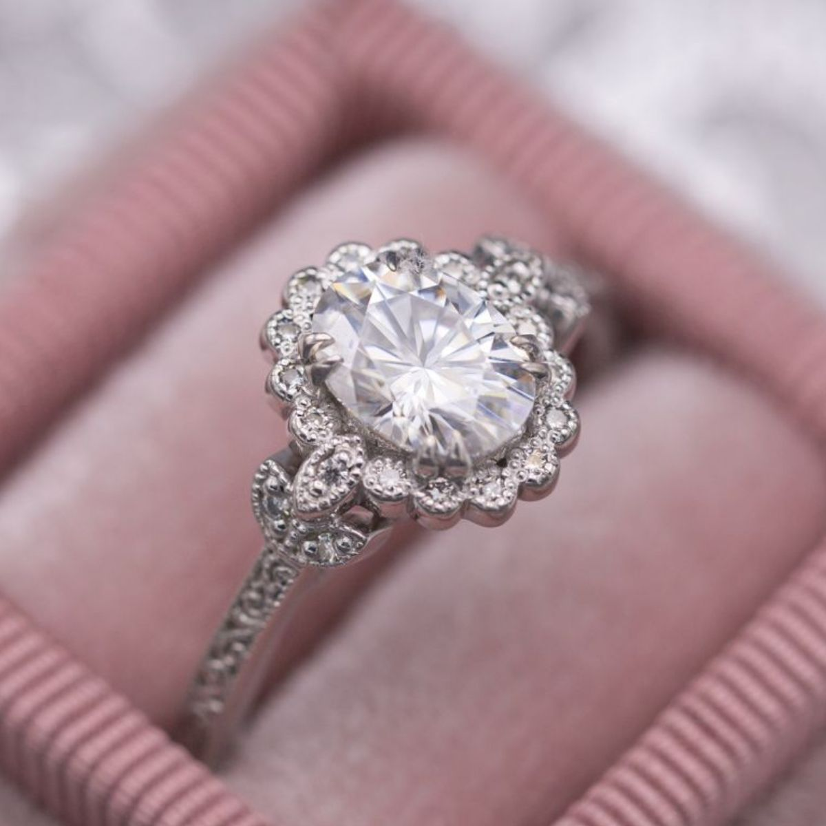 Moissanite Engagement Rings | CustomMade.com