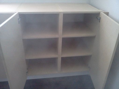 Custom Made Office Cabinets
