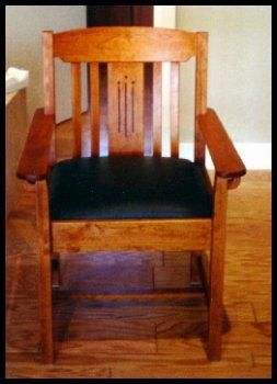 Custom Made Craftsman Style Chairs