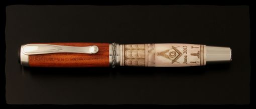 Custom Made Masonic Fountain Pen Or Rollerball Pen