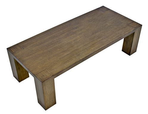 Custom Made Bamboo Coffee Table