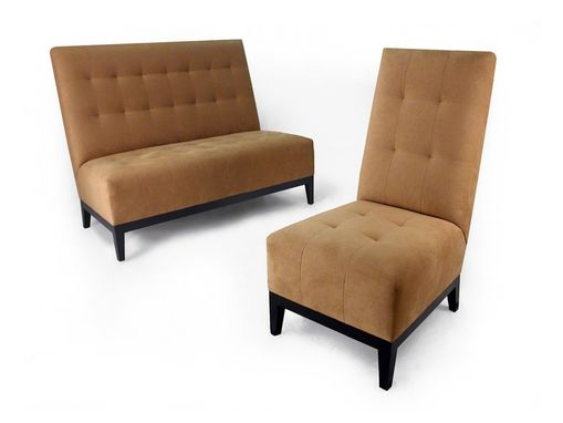 Custom Made Balmoral Club Chair, Love Seat, And Sofa