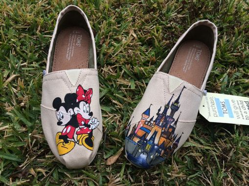 Custom Made Mickey And Minnie Toms