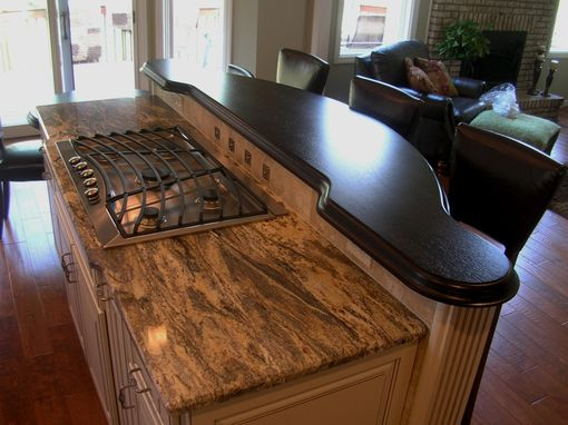 Custom Made Wenge Kitchen Bar And Breakfast Table