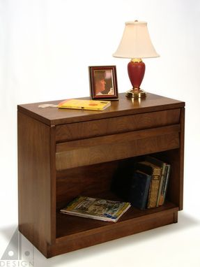 Custom Made Walnut Night Stand